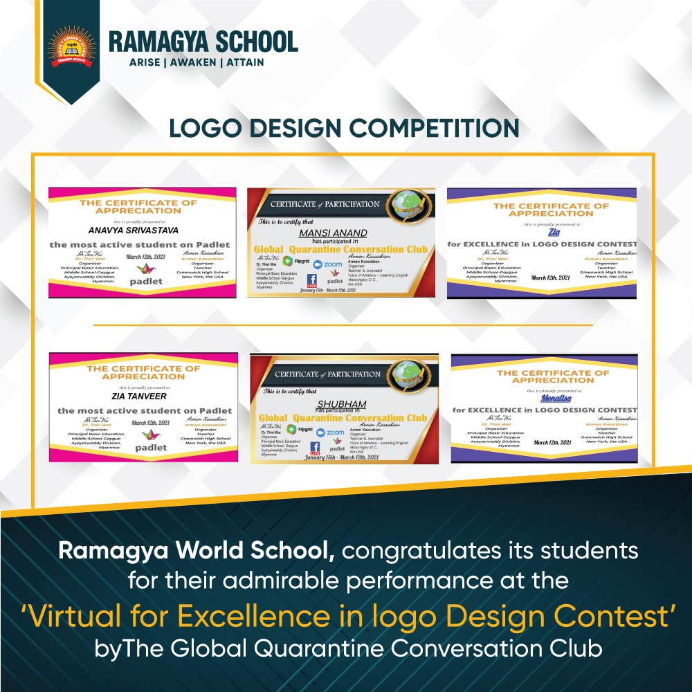 VIRTUAL FOR EXCELLENCE IN LOGO DESIGN CONTEST