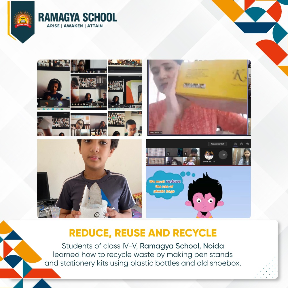 Summer Camp (Noida): Reduce, Reuse And Recycle