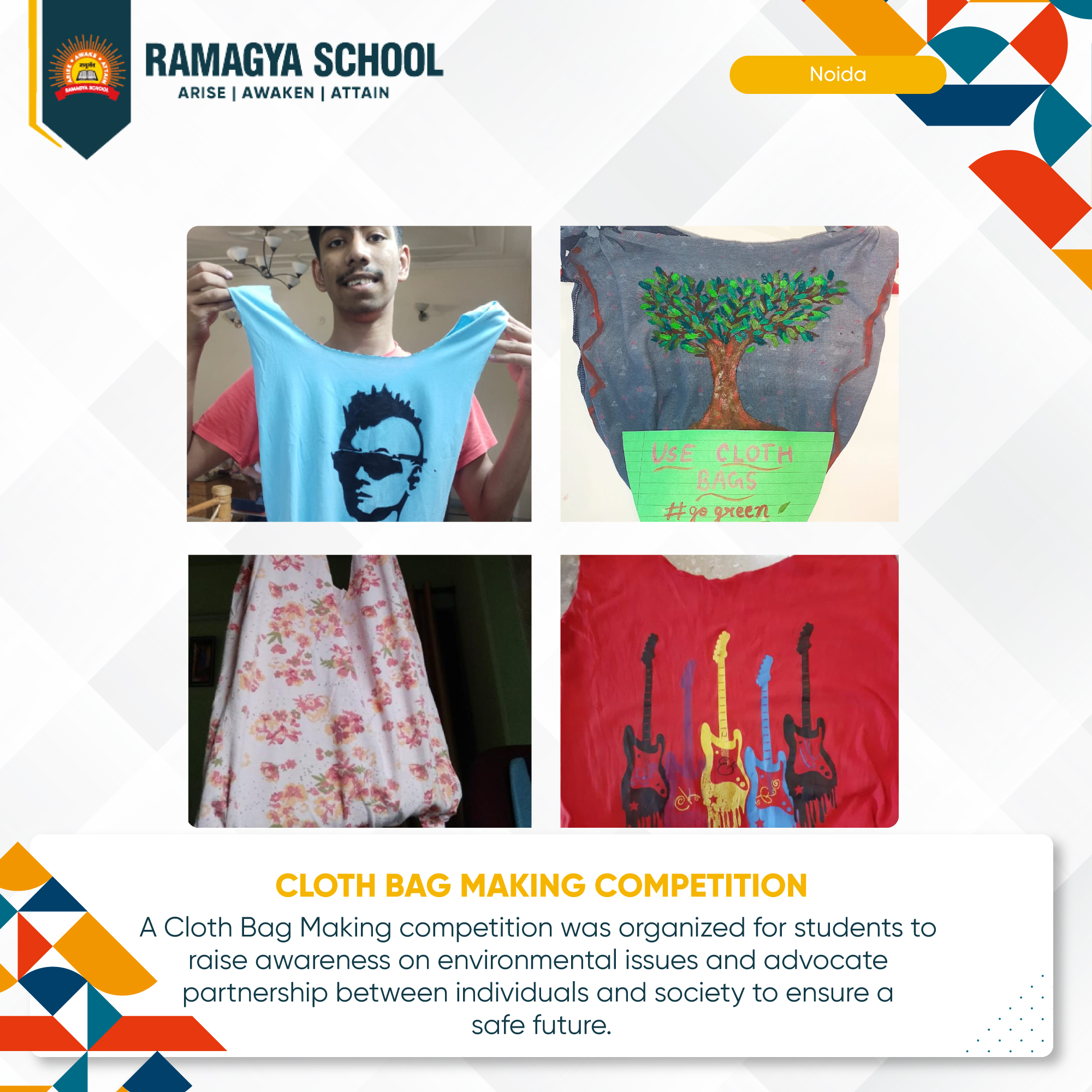 CLOTH BAG MAKING COMPETITION